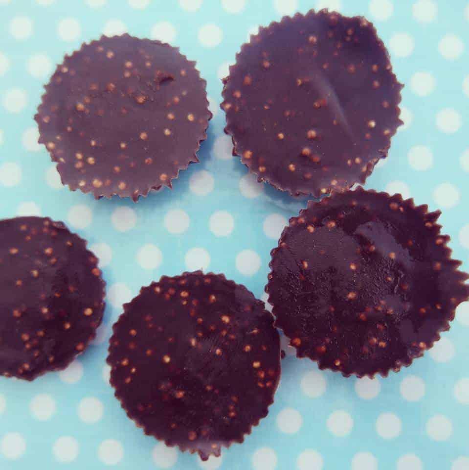 נשנושי שוקולד עם פצפוצי קינואה